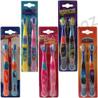DISNEY CHARACTER TOOTHBRUSH TWIN PACK KIDS CHILDREN BARBIE PEPPA PIG SKYLANDERS