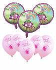 Garden Fairy Party Latex & Foil Balloons!   FAST FREE POSTAGE!