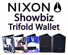 Nixon Showbiz Trifold Wallet Purse Card Money Note Coin Carrier Quality Made