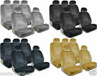 PREMIUM Full Set Seat Covers Airbag Safe 8mm Quality Double Stitched Fabric 2K