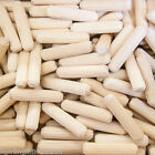8mm x 35mm HARDWOOD DOWELS GROOVED FLUTED PIN WOODEN WOOD BEECH DOWEL CERTIFIED