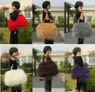 Real Farmed Mongolia Lamb Fur 8 Color Bag Handbag