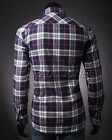 On Special Men's Casual Slim Fit Luxury Stylish Long Sleeve Dress Shirts S M-XL