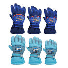 Children Kids Boy Girl Waterproof Winter Ski Snow Sport Fleece Warm Gloves