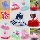 New Fashion Summer Various Pet Puppy Small Dog Cat Clothes Cute Lace Skirt Dress