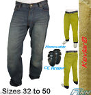 Mens Blue Motorcycle Protective Jeans Lined with Knitted Dupont™ Kevlar® +Armour