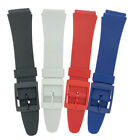 20mm TA Colour Silicone Rubber Watch Strap
