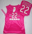 Chicago Bears Football Forte Ladies Draft Me Jersey Shirt Pink NWT