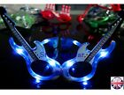 LED Light-Up Flashing Electric Guitar Glasses Concert Club Party * 3 Colours* UK