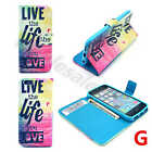 New Phone Cover For Multi Brand Printed Wallet Premium Leather Rubber Card Case