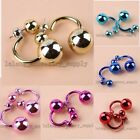 5/25 Pairs Fashion Women Men European Punk Style Ear Studs Earrings Jewelry L