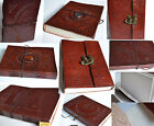 Hand Made Paper Journal Notebook Diary Leather Buddha Elephant Traditional India
