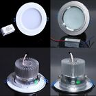 White Silver Flood LED Recessed Lamp ceiling light Downlight 3W 5W 7W 9W 12W 18W