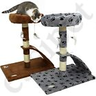 Cat Tree Scratcher Scratch Post Kitten Play Toy Scratching Activity Centre