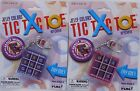 TIC TAC TOE Game Keychain Keyring X's & O's Really Works! Travel Doll Mini NEW