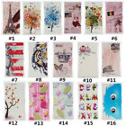 Classic Cartoon Vintage PU Leather slot wallet flip Case Cover For Nokia #1