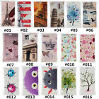 Classic Cartoon Vintage PU Leather slot wallet flip Case Cover For Nokia #2