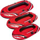NEW INFLATABLE BOAT SUMMER DINGHY BEACH SEA RIVER POOL ROWING BOAT KAYAK CANOE