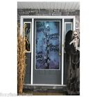 """Help Us"" ' Zombie' Horror Scary Door Cover Poster Halloween Decor Decoration"