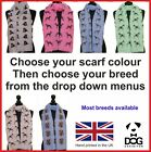 scarf with dogs on Dog Breed Print ladies printed fashion shawl designer scarves