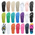 NEW LADIES WOMENS MENS BEACH FLIP FLOPS JELLY FLIPFLOPS SANDALS SHOES SIZE LIGHT
