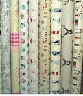 Fryetts PVC Fabric WIPE CLEAN Tablecloth Oilcloth All Designs and Sizes
