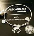 CHEAP! Alex and Ani Leo Zodiac Expandable Bangle Bracelet NEW Style STAMPED