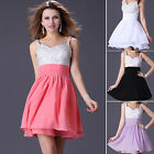 Plus Size Short Prom Dress Homecoming Gown Party Bridal Bridesmaid WEDDING Dress