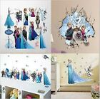 Frozen Wall Stickers Elsa Olaf Anna UK SELLER Kids room decals vinly signs