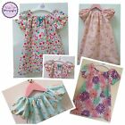 NEW Handmade Beautiful BOW DRESSES Age 12-18 Months YOU CHOOSE DESIGNER FABRIC