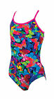 Zoggs Wings Bella Crossback Girls Swimsuit Swimming Costume 5060150