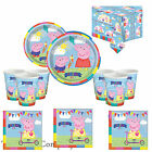 Peppa Pig Birthday Party Plates, Cups, Napkins, Tablecovers, Fast Free Post!