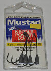 Mustad Weighted Needle Power Lock Hooks - Multiple Sizes
