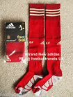 S M L XL XXL ADIDAS 2014 SPAIN FEF HOME SOCKS football soccer Mens Boys Espana