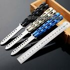 PRACTICE BALISONG BUTTERFLY KNIFE DULL BLADE SAFETY TRAINER TRAINING SPORT TOOL
