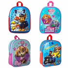Nickelodeon Paw Patrol Girls Boys Junior School Bag Rucksack Backpack New