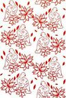 COUTURE CREATIONS Wrapped Joy Collection POINSETTIA LULLABY Emboss Folder 723592