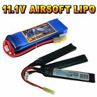 11.1V Airsoft LiPO Battery 800 to 2600mAh All Sizes + Custom Connector