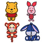 Winnie The Pooh Baby Iron / Sew On Patch Badge AppliqueCraft - CHOOSE CHARACTER