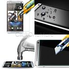 GTI - 0.26mm 9H Slim Genuine Tempered Glass Screen Protector Film for HTC M7 M8