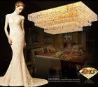 Modern fashion LED crystal lamp minimalist living room ceiling with lighting#145
