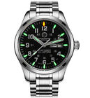 Luxury Mens H3 Green Tritium Watch 200M Waterproof Light Military Quartz Watches
