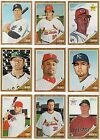 2011 Topps Heritage Base, Rookie, RC, or Star Card You Pick Your Player F