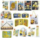 Kid Despicable Me Minions Dave Stuard Fun Activity Stationery Art Travel Set New