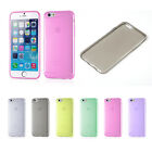 """Ultra 0.3mm Thin Semi Transparent Clear Soft Back Case Cover for iPhone 6 4.7"""""""