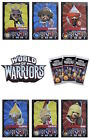 Topps World Of Warriors Trading Cards. Warrior Cards 120-152