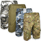MILITARY ARMY US STYLE MP3 COMBAT BDU SHORTS CAMO BATTLE DRESS