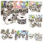 bead and charms - Clip On Lock Charms Stop Beads and Rubber O Rings Pack for European Bracelets