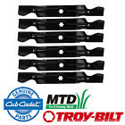 "2 Sets of 3 OEM MTD Cub Cadet Blades 50"" Deck Lawn Mower RZT50 942-04053C"