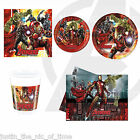 Marvel AVENGERS AGE OF ULTRON Boys Birthday Party Tableware Plates Cups Napkins